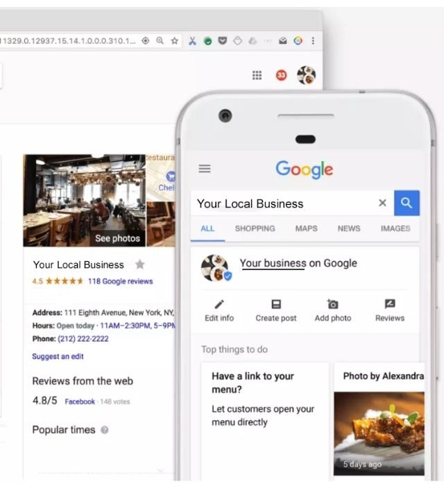 Google My Business - Local Pack